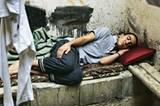Amjad Gashan Aabdei wollte Ingenieur werden, Granatsplitter haben ein Auge zerstört