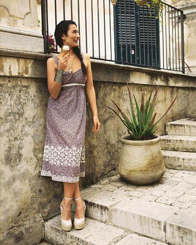 Nähanleitung: Trägerkleid zum Selbernähen