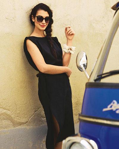 Nähanleitung: Schwarzes Kleid zum Selbernähen