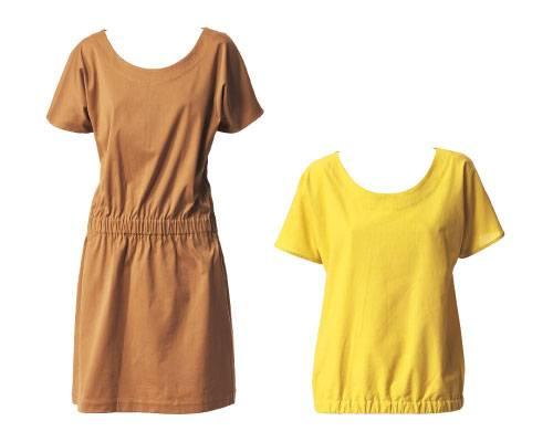 Kleid und Bluse nähen