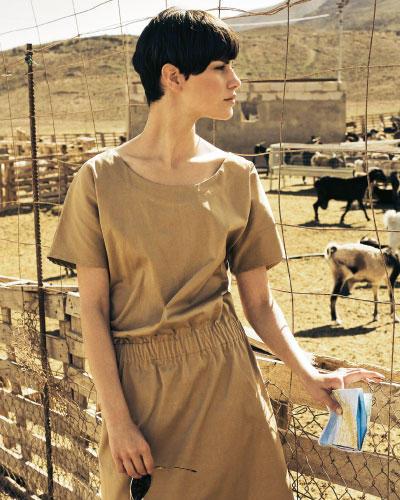 Kleid mit Gummizug
