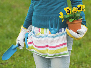 Nähen für den Garten: Accessoires zum Selbermachen