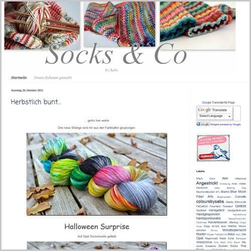 Socks by Sabs