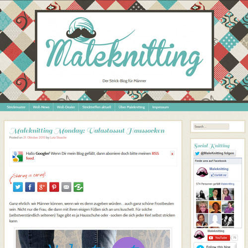 Maleknitting