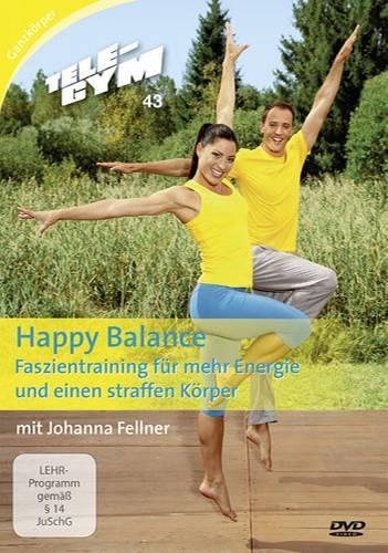 """Workout: Mehr Übungen für das Bindegewebe gibt es in der folgenden Tele-Gym-Folge mit Johanna Fellner: """"Happy Balance - Faszientraining für mehr Energie und eine straffe Figur""""."""