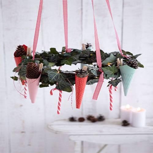 Küchengarn Ersetzen ~ weihnachtsdeko adventskranz basteln leicht gemacht