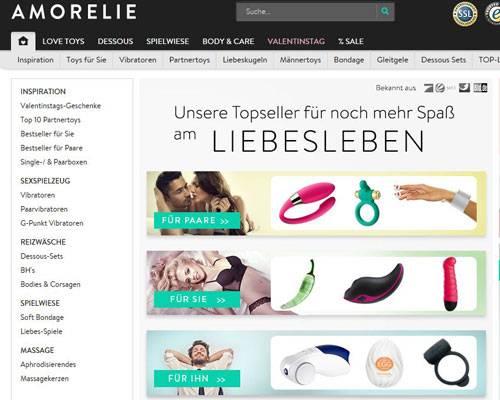 Der Online-Shop: Amorelie