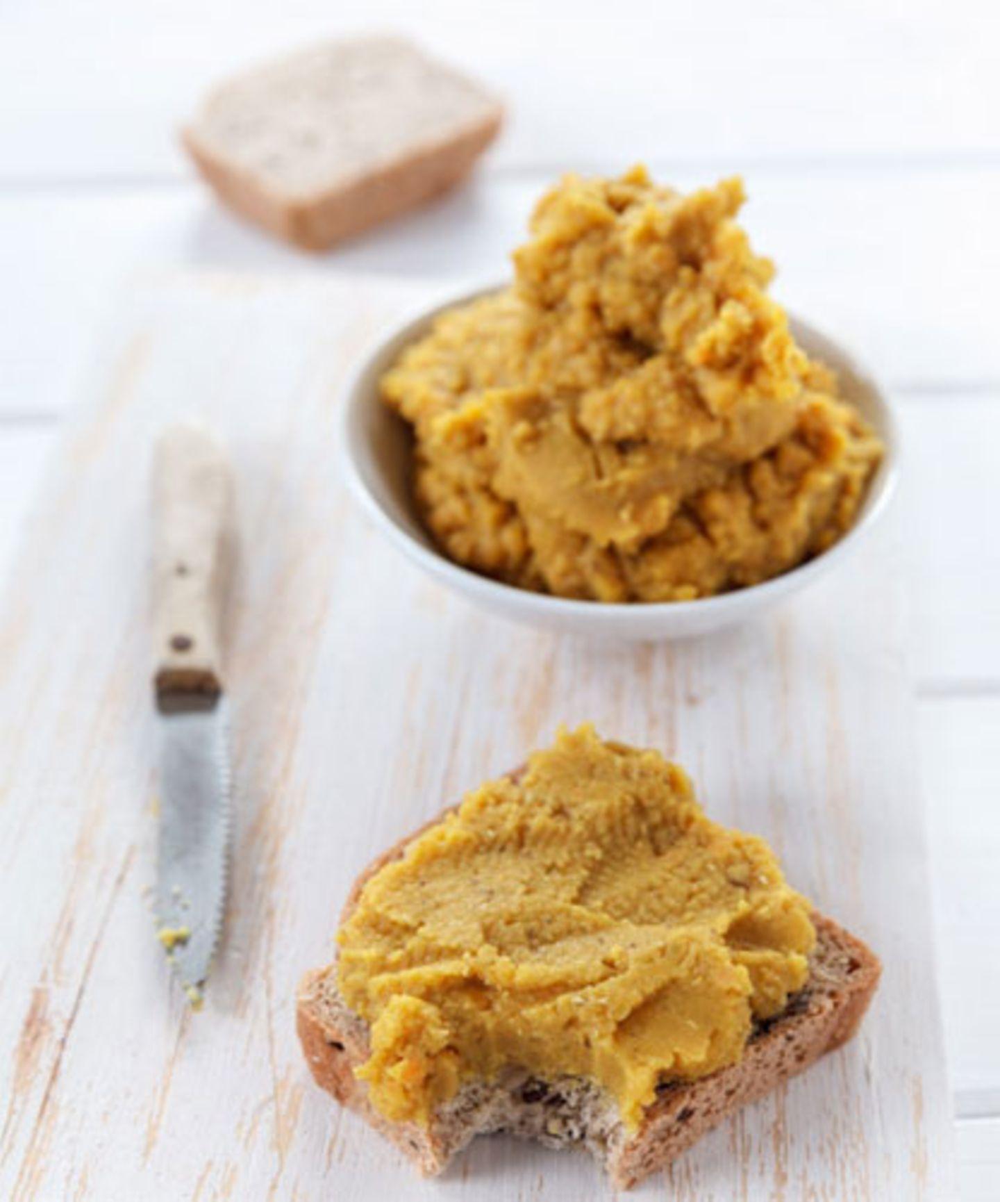 """Curry-Linsen-Aufstrich von """"Food vegetarisch"""""""