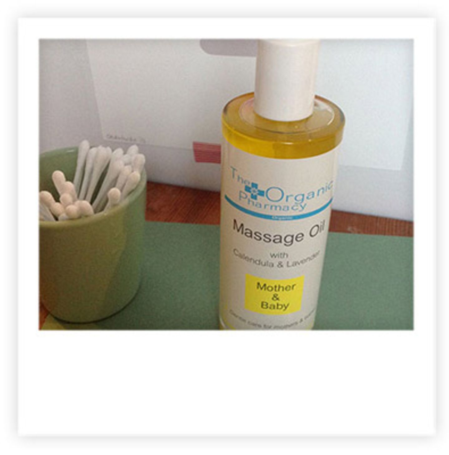 """The Organic Pharmacy """"Mother & Baby Massage Oil"""""""
