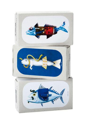 Lecker und wunderschön verpackt, von José Gourmet, pro Dose ca. 15 Euro, www.oschaetzchen.com