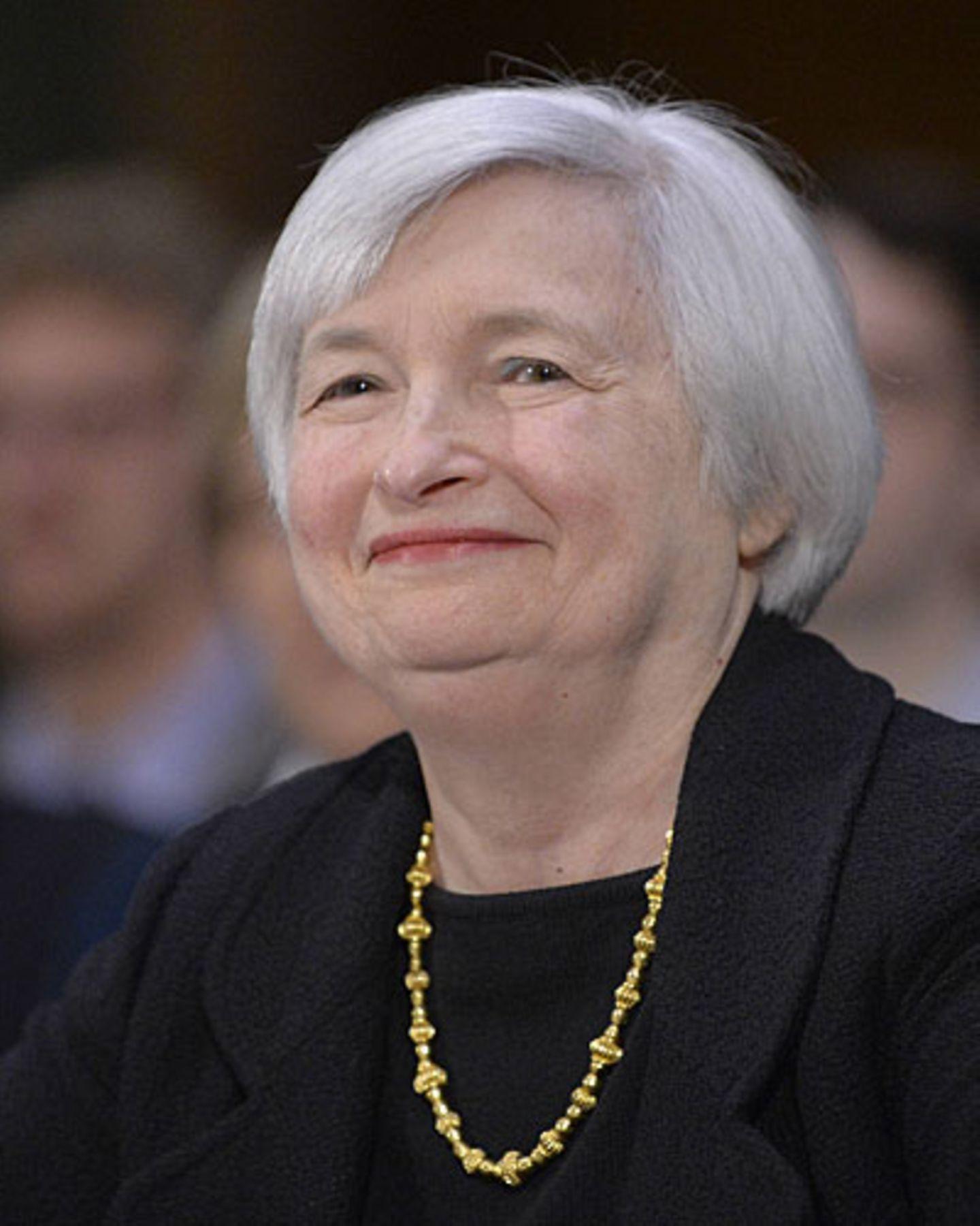 Die Finanzexpertin: Janet Yellen