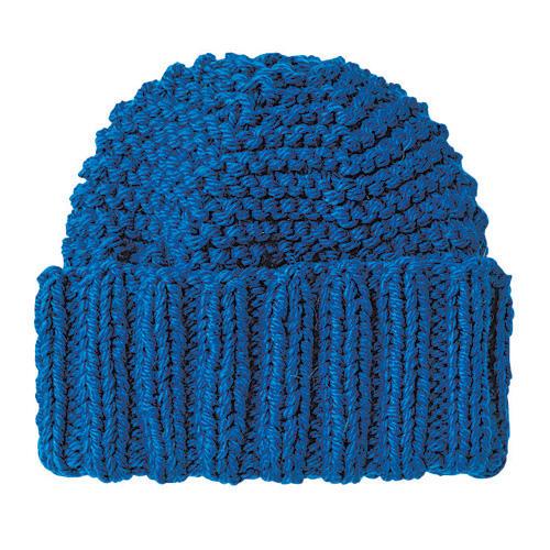 Mütze mit Bundmuster stricken