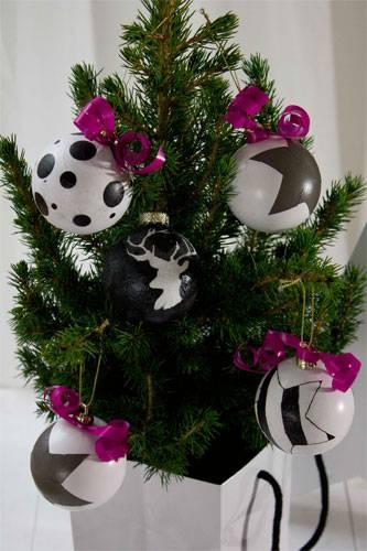 Weihnachts-Bloggerei: Bis jetzt war unsere Kugelfarbe traditionell rot. Aber bei dem Gedanken an rote Kugeln wurde mir dieses Jahr so gar nicht warm ums Weihnachtsherz. Daher habe ich beschlossen, unseren alten Kugeln einen neuen Look zu verpasssen. Ich habe das Ganze aber erstmal an unseren günstigen Plastikkugeln getestet, nicht gleich an den Glaskugeln. Als Grundfarbe habe ich Weiß für die Kugeln gewählt, denn mit Weiß lässt sich viel kombinieren. Mehr bei BRIGITTE.de: 100 schöne Ideen zum Selbermachen Das passende Geschenk finden Weihnachtsdeko selbermachen