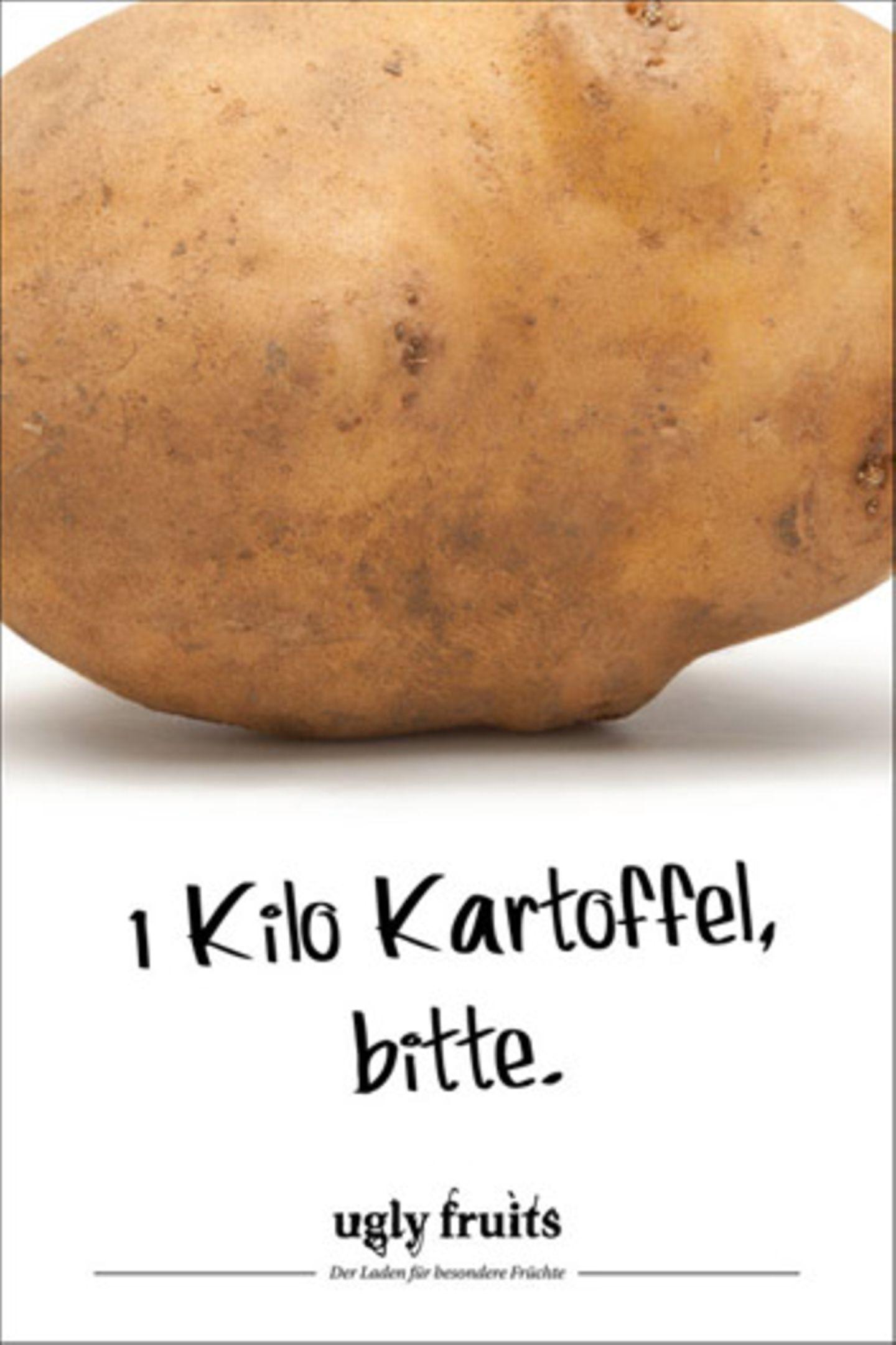 Zu groß für den Kochtopf? Riesenkartoffeln werden gewöhnlich aussortiert, dabei sind sie genauso gesund wie ihre kleineren Verwandten und schmecken auch genauso gut.