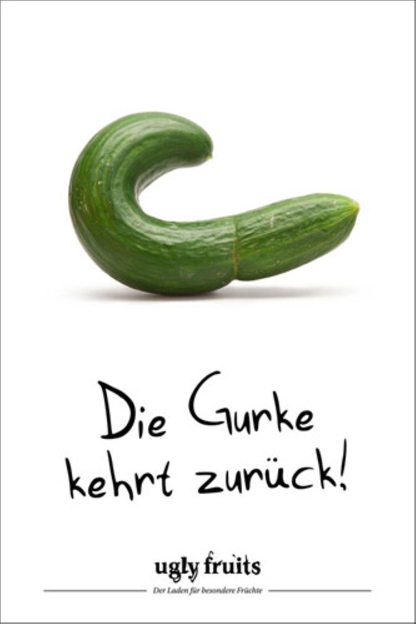 Früher waren krumme Gurken per EU-Norm verboten. Seit 2009 dürfen sie wieder verkauft werden. Aber die Supermärkte setzen trotzdem lieber auf makelloses Normgemüse.