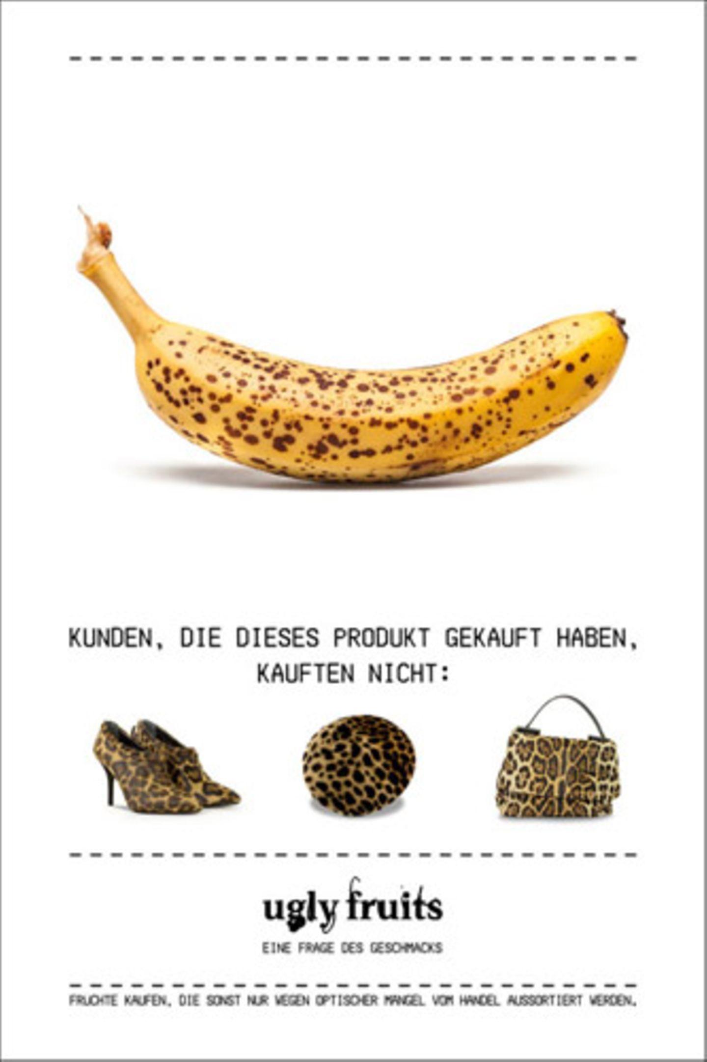 Das Essen, das wir in Europa wegwerfen, würde zwei Mal reichen, um alle Hungernden der Welt zu ernähren. Also ran an die fleckigen Bananen!