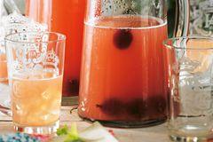 Stachelbeer-Melonen-Limonade