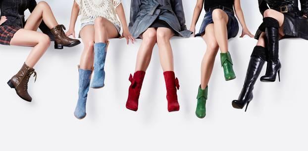 Stiefel für kräftige Waden: 5 Frauenbeine mit Stiefelns
