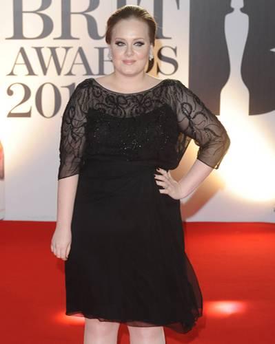 Rundliches Gesicht: Adele