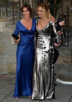 Silvia Toffanin und Ilary Blasi auf der Hochzeit von Michelle Hunziger und Tomaso Trussardi