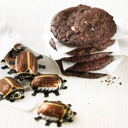 Dreierlei Schoko-Cookies