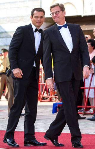 Michael Mronz und Guido Westerwelle
