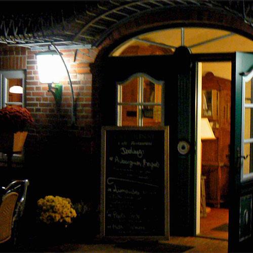"Café Restaurant ""Ual Skinne"" in Utersum"