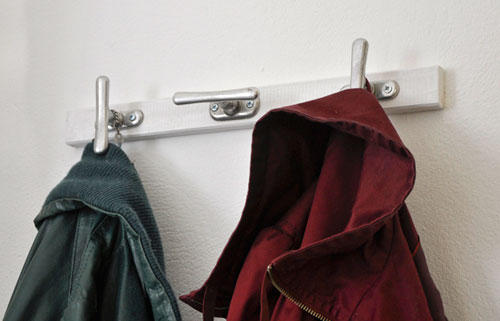 Griffige Garderobe
