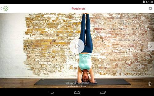 Alles-in-einem-Yoga: Die Fitness-App für Yoga
