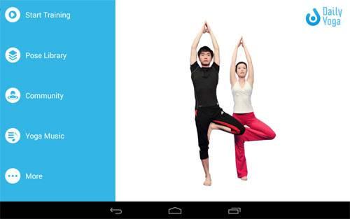 Daily Yoga: Fitness-App für Yoga