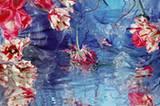 Mit ihren grellen Farben und Wasserspiegelungen erinnern die Blumen-Fotos von Margriet Smulder ein wenig an Bilder, die üblicherweise die Wände chinesischer Schnellrestaurants schmücken.Margriet Smulder: Dragonfly, 2006, Courtesey the artist und Galeria Nara Roester, São Paulo und Galerie Claude und Fabian Walter, Zürich.