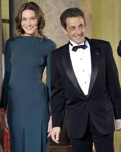 Carla Bruni und Nicolas Sarkozy
