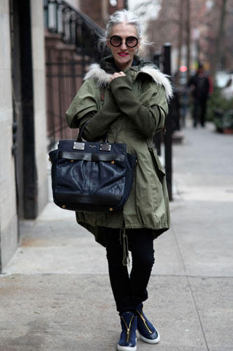 "Streetstyle New York - das ""Advanced Style""-Blog"