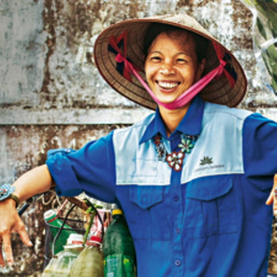 Schmuck in Hanoi, bunt wie das Leben