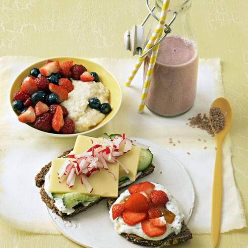 Dreimal Frühstück
