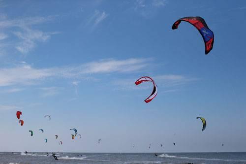 Am Strand von Ording treten vom 1. bis 10. August 2014...