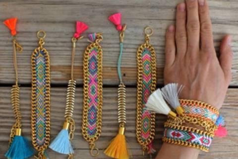 Hippie-Armbänder - je mehr, desto besser