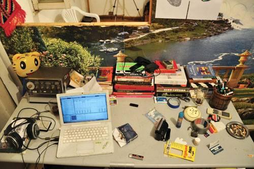 Job: Blick in eine grüne Flusslandschaft: Hier arbeitet ein Designer in der Millionenstadt Kairo.