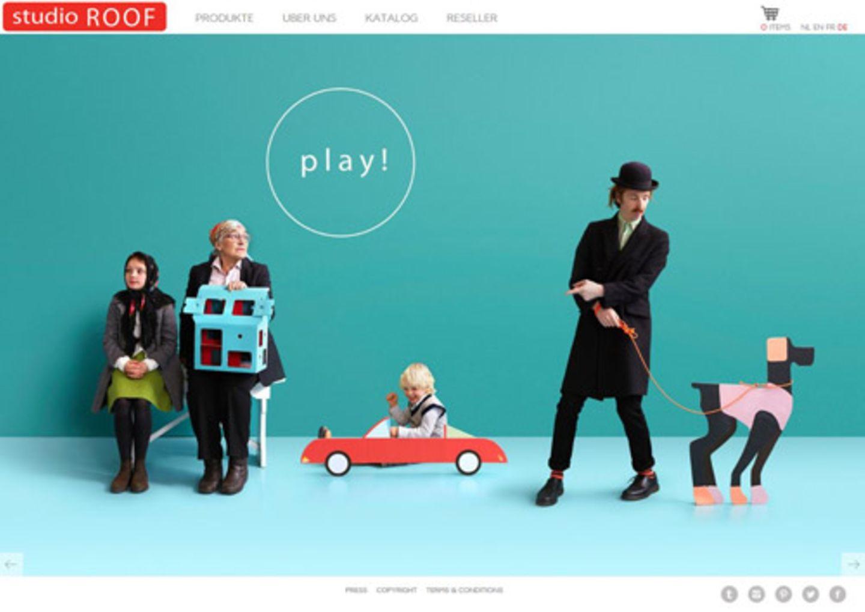 """""""Spielzeug, das nach kurzer Zeit in der Ecke landet, gibt's genug. Darum begeistert mich das Konzept von Kidsonroof: Die Holländer verkaufen tolle kreative Produkte, die die Fantasie anregen und sich immer wieder neu verwandeln lassen: mobile Spielhäuser zum Selbstgestalten, Pappbausätze für dreidimensionales Basteln oder raffinierte Klötze für fantastische Holzgebilde. Macht auch Erwachsenen Spaß."""" - Michèle Rothenberg"""