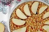 Rohkost-Apfelkuchen