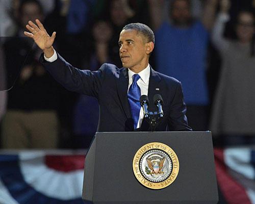 Barack Obama: wiedergewählter US-Präsident