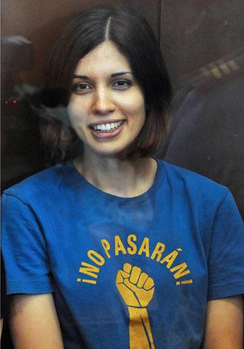 """Nadeschda Tolokonnikowa: Mitglied der Protest-Gruppe """"Pussy Riot"""""""