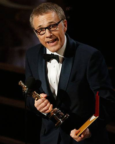 Bester Nebendarsteller: Christoph Waltz