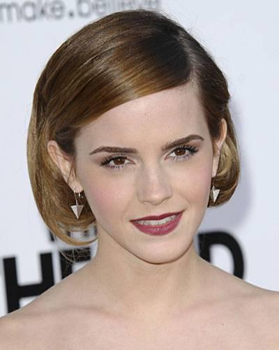 Faux Bob: Emma Watson