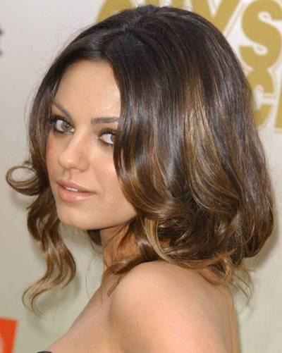 Faux Bob: Mila Kunis