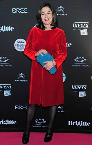 BRIGITTE Fashion Event: Die Schauspielerin Charlotte Schwab.