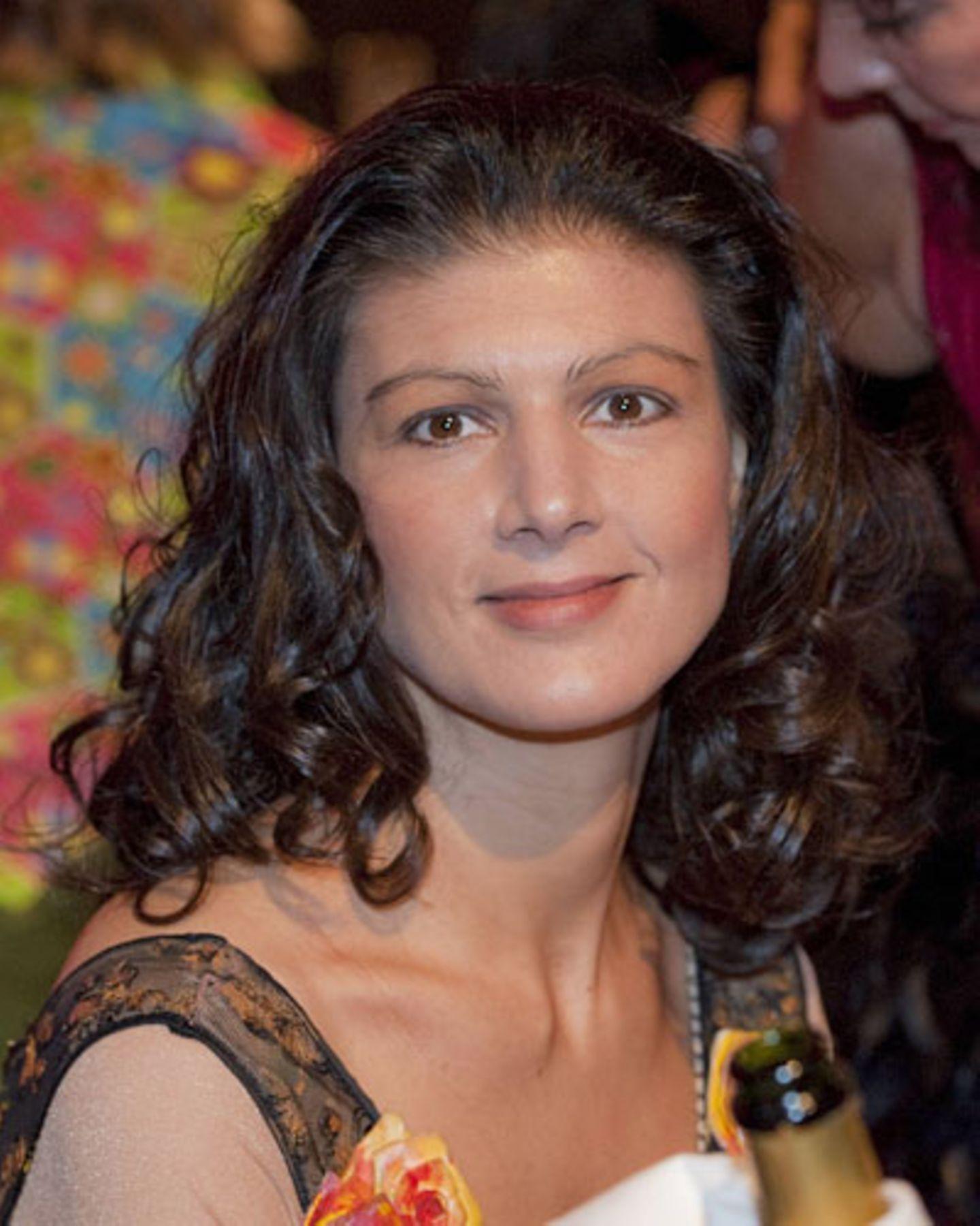 Sahra wagenknecht mit offenen haaren