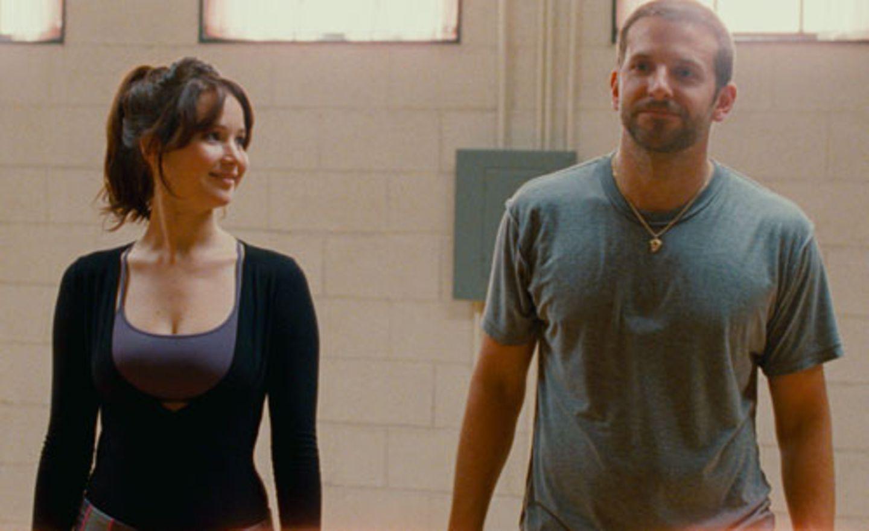 Bradley Cooper Jennifer Lawrence tanzen