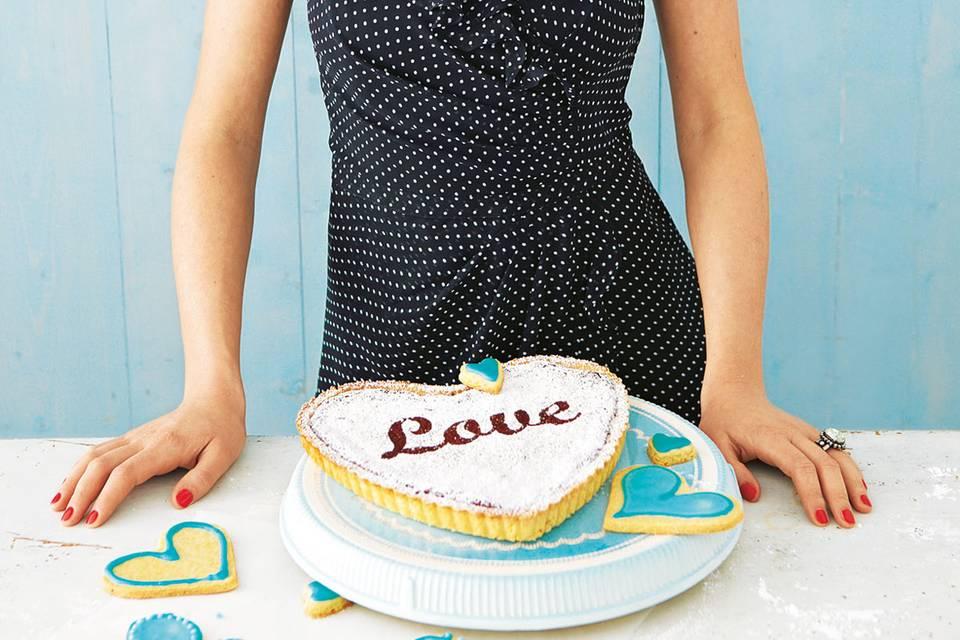 Valentinstags-Kuchen: Mit Liebe gebacken