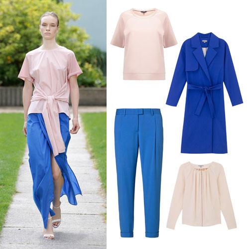Farben im Frühling 2015: Royalblau & Rosa